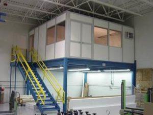 Mezzanines - Centex Material Handling