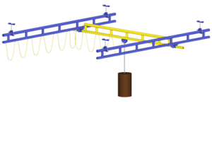 Ceiling Mounted Crane systems - Centex Material Handling