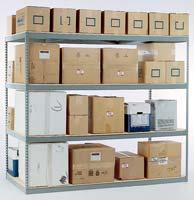 Widespan Shelving - Centex Material Handling