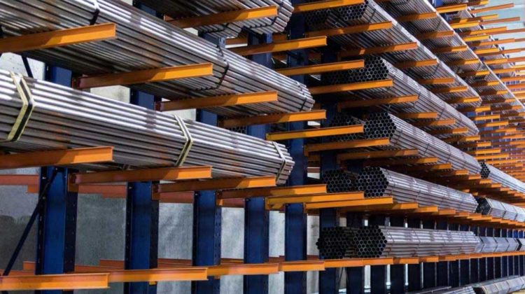 Cantilever Racking Systems - Centex Material Handling