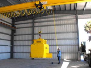Crane load tests - Centex Material Handling