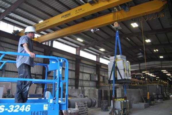 Industrial and Commercial Cranes - Centex Material Handling - Texas